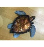 Copper Sea Turtle Sm 7X7