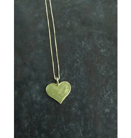 """Amazonite Heart Necklace SS 18"""""""