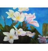 "Art Block - Frangipani Pale Pink 5x7"""