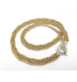 """Gold Rope 18"""" Necklace by Dovera (14K Gold Filled)"""