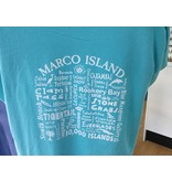 Where Life Takes You V Neck TEE Marco Island