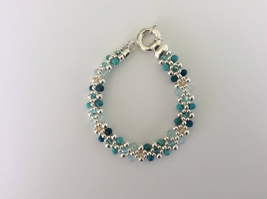 "Classic Royal Marco Island Reversible Bracelet (1/4""wide)"