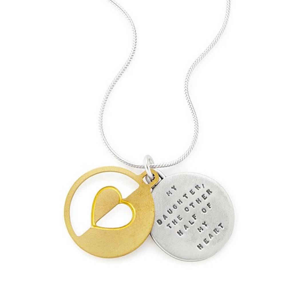 """My Daughter, Other half. 18"""" Necklace"""
