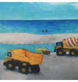Art Block - Beach Renourishment 6x6""
