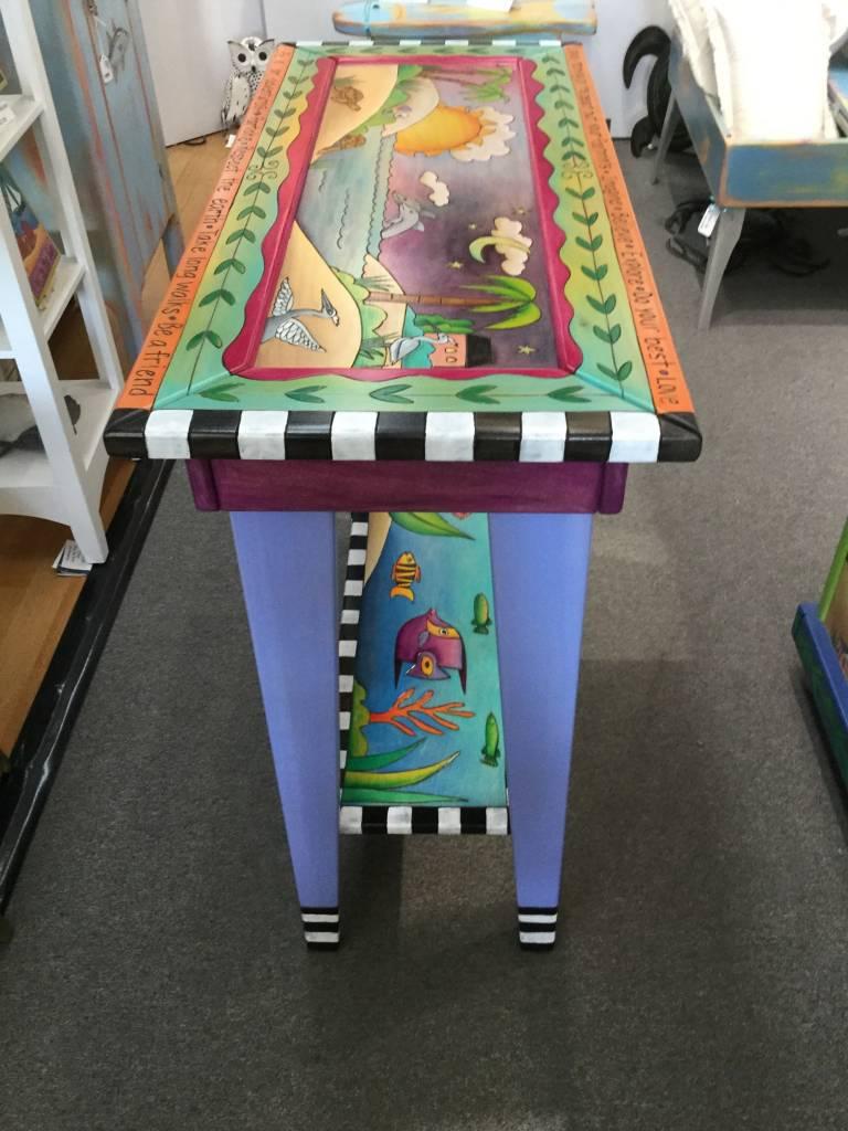"Sofa Table Coastal 3' (30""H) w/ Shelf"