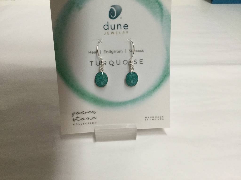 Turquoise Sandrop Earrings Small