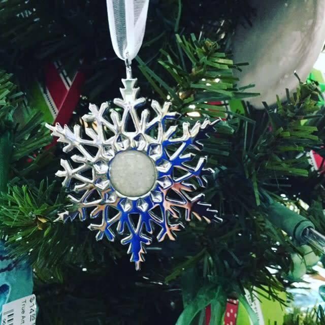 Snowflake Ornament w/ Marco Island Sand