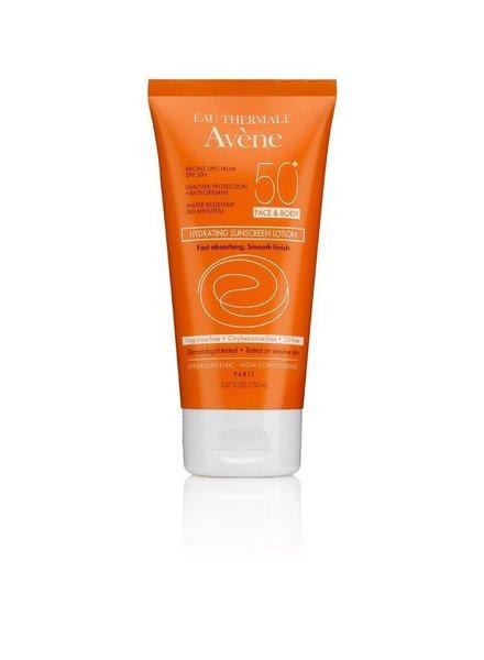 Avene Hydrating Sunscreen Lotion SPF 50+ (face & body)