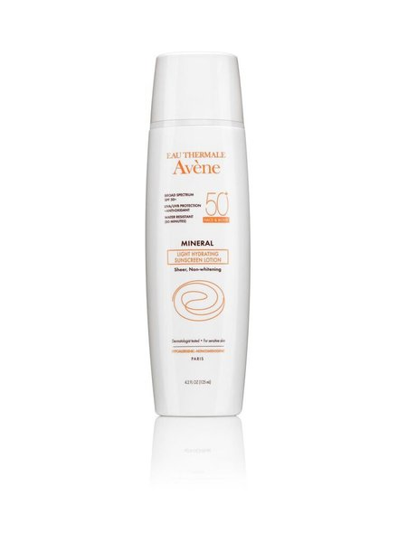 Avene MINERAL Light Hydrating Sunscreen Lotion SPF 50+ (face & body)