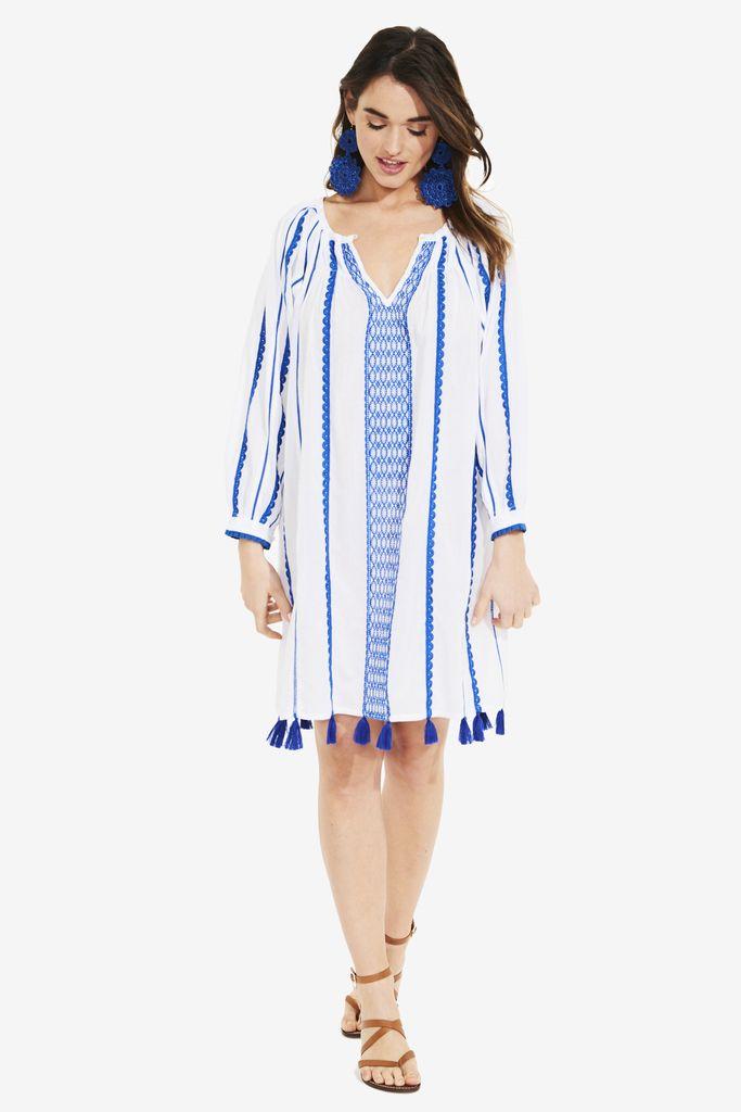 Roberta Roller Rabbit Pavi Embroidered Dress