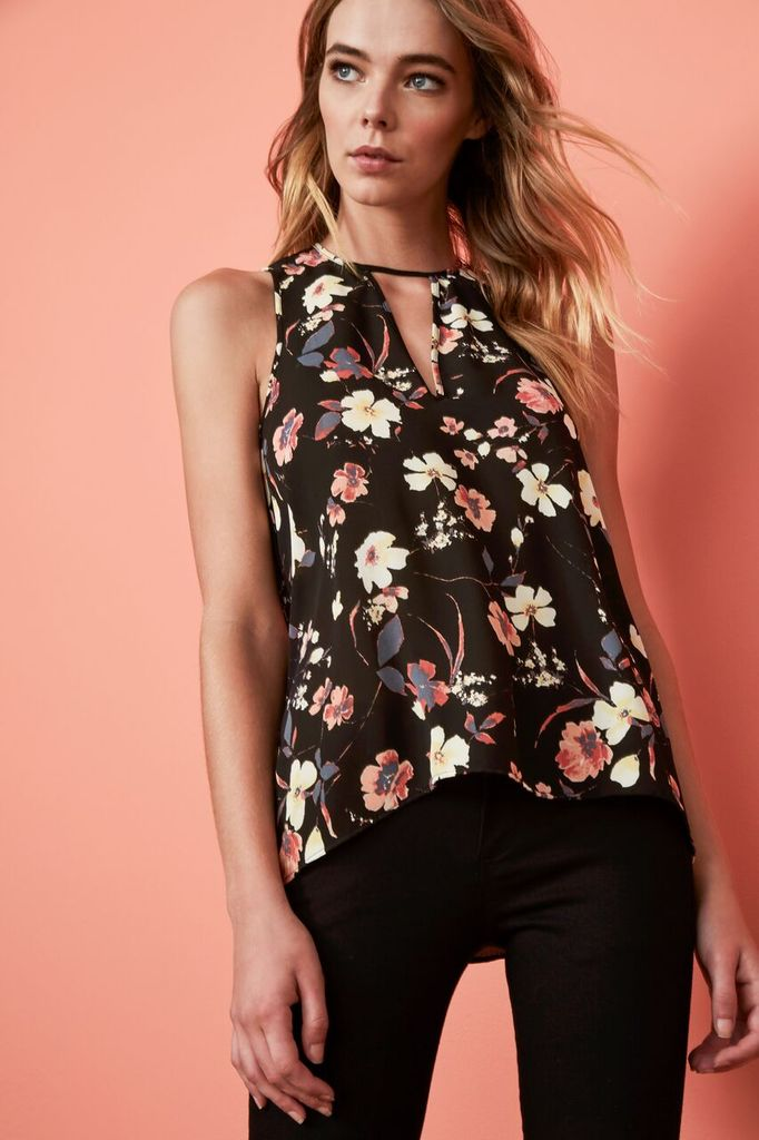 Three Eighty Two Brie Cutout Tank