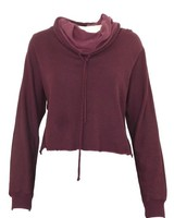 Lanston Funnel-Neck Cropped Pullover