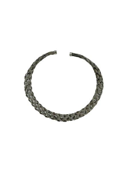 Atelier Mon Collar Necklace in Rhodium