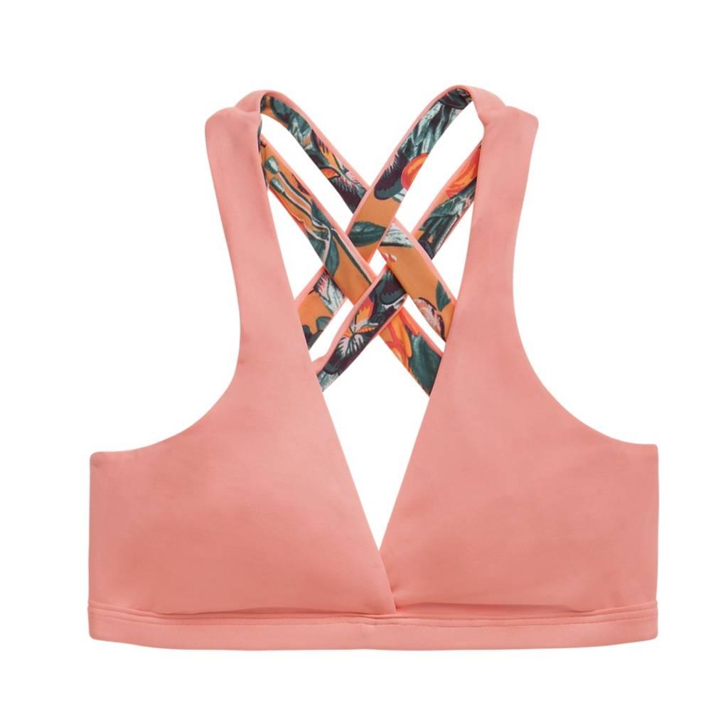 Maaji Apricot Swirl Bikini Top