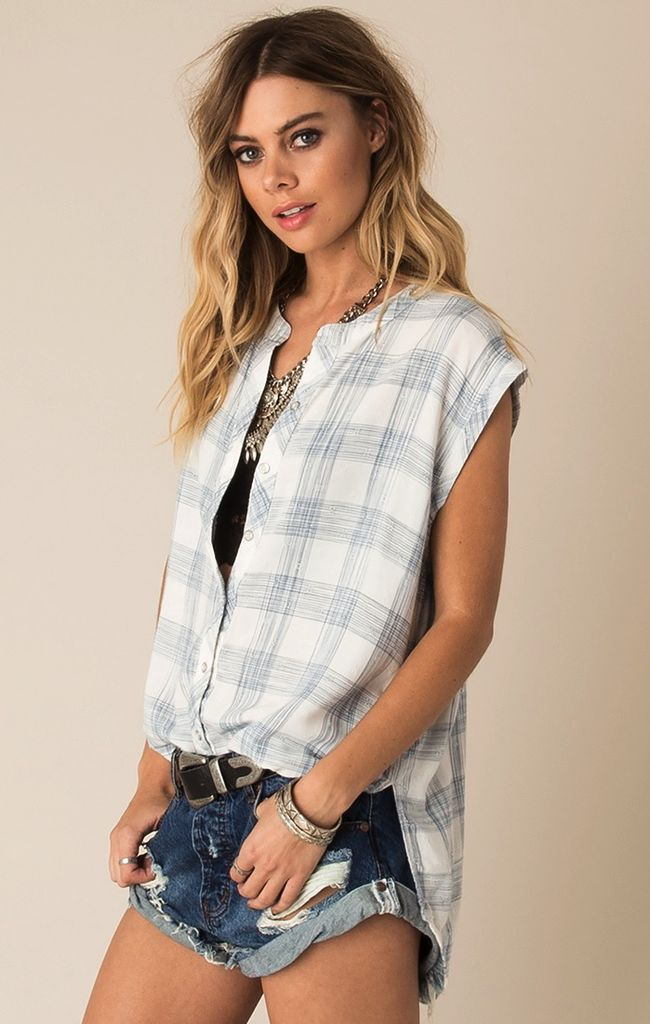 White Crow Ryder Button Down