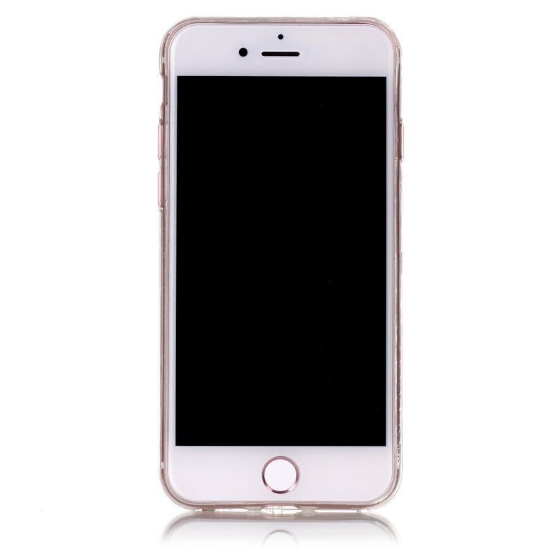 Serendipity iPhone 7 Marble/Granite/Stone Silicon Case-Purple