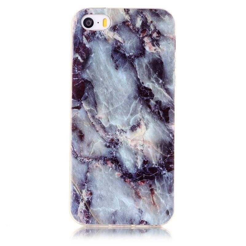 Serendipity iPhone 7 Marble/Granite/Stone Silicon Case-Charcoal