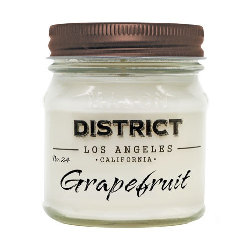 Serendipity No. 24 Grapefruit Candle - 8 OZ. Soy Beeswax