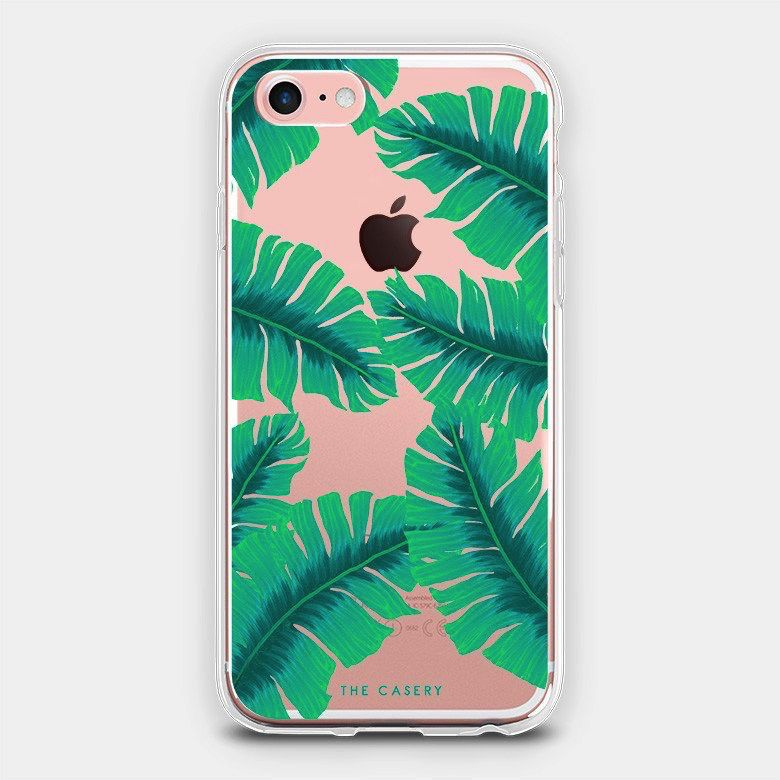 The Casery Banana Leaves iPhone Case