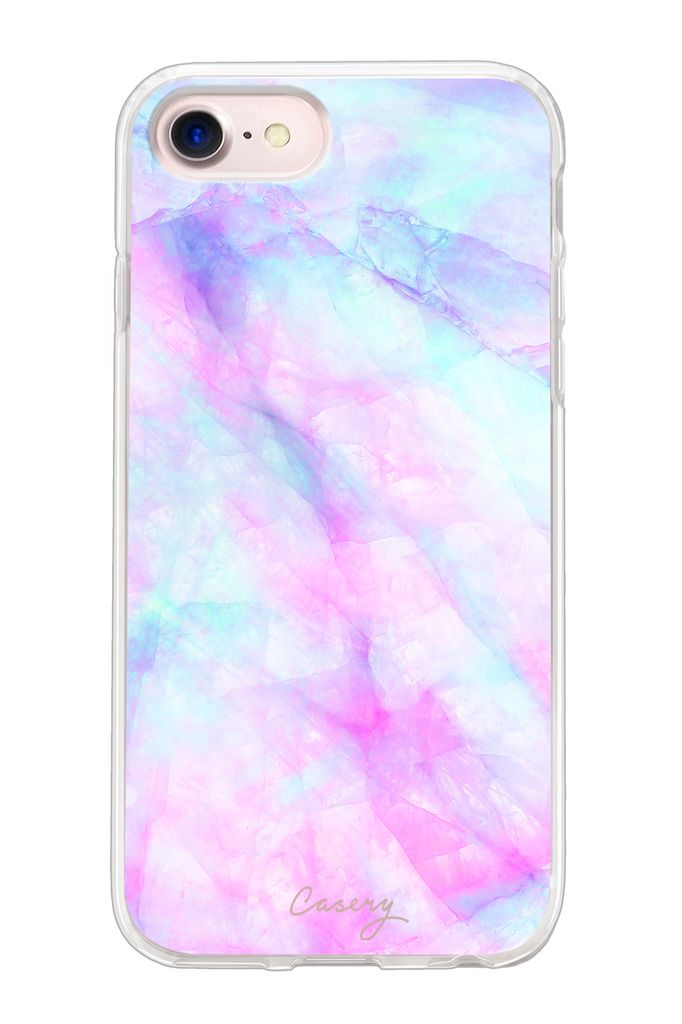 The Casery Iridescent Hybrid iPhone Case