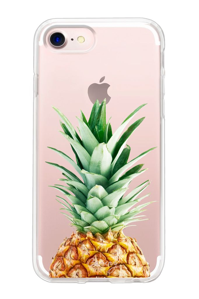 The Casery Pineapple Top Hybrid iPhone Case