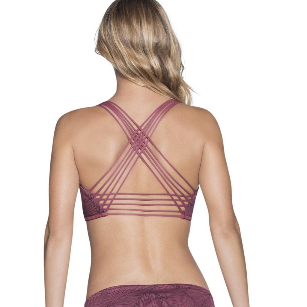 Maaji Fixed Halter Top w/ Removable Soft Cups