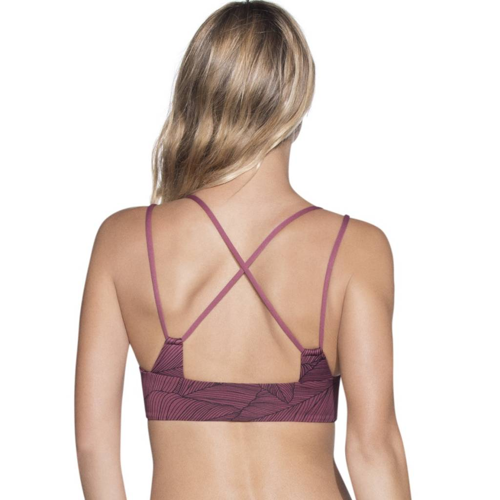 Maaji Rose Velvet Bikini Top