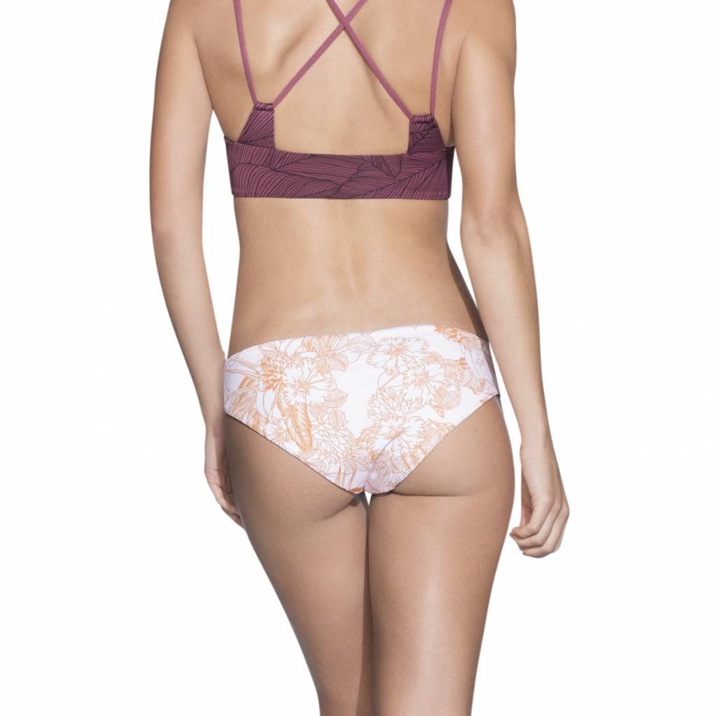 Maaji Rose Velvet Bikini Bottom