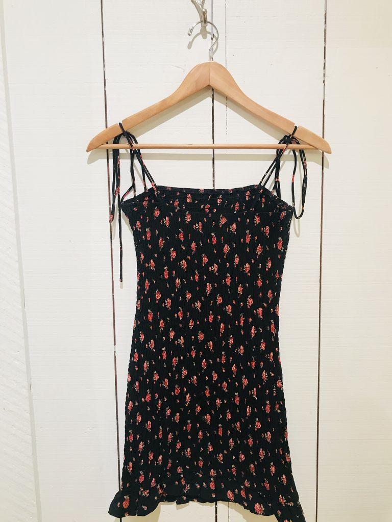 EM & ELLE Floral Seersucker Mini Dress