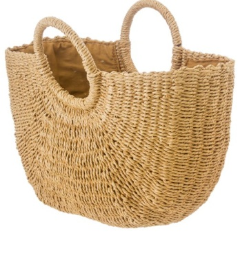 Serendipity Straw Tote