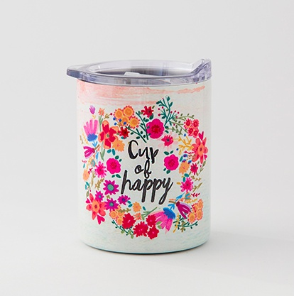 Natural Life Cup of Happy Lowball Tumbler