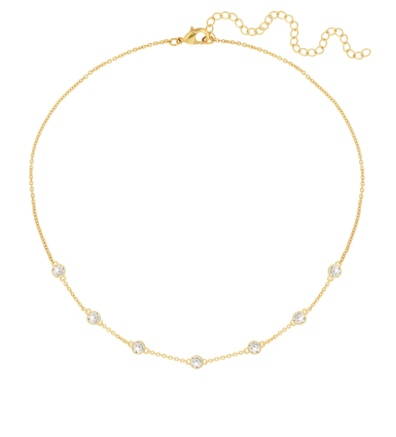 Serendipity Elizabeth Necklace, Gold Plated