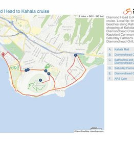 Diamond Head to Kahala cruise