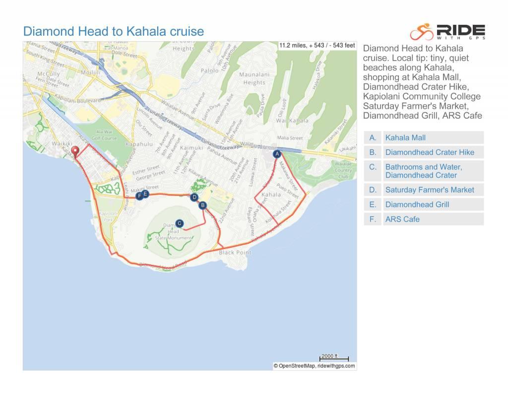 Diamond Head to Kahala cruise