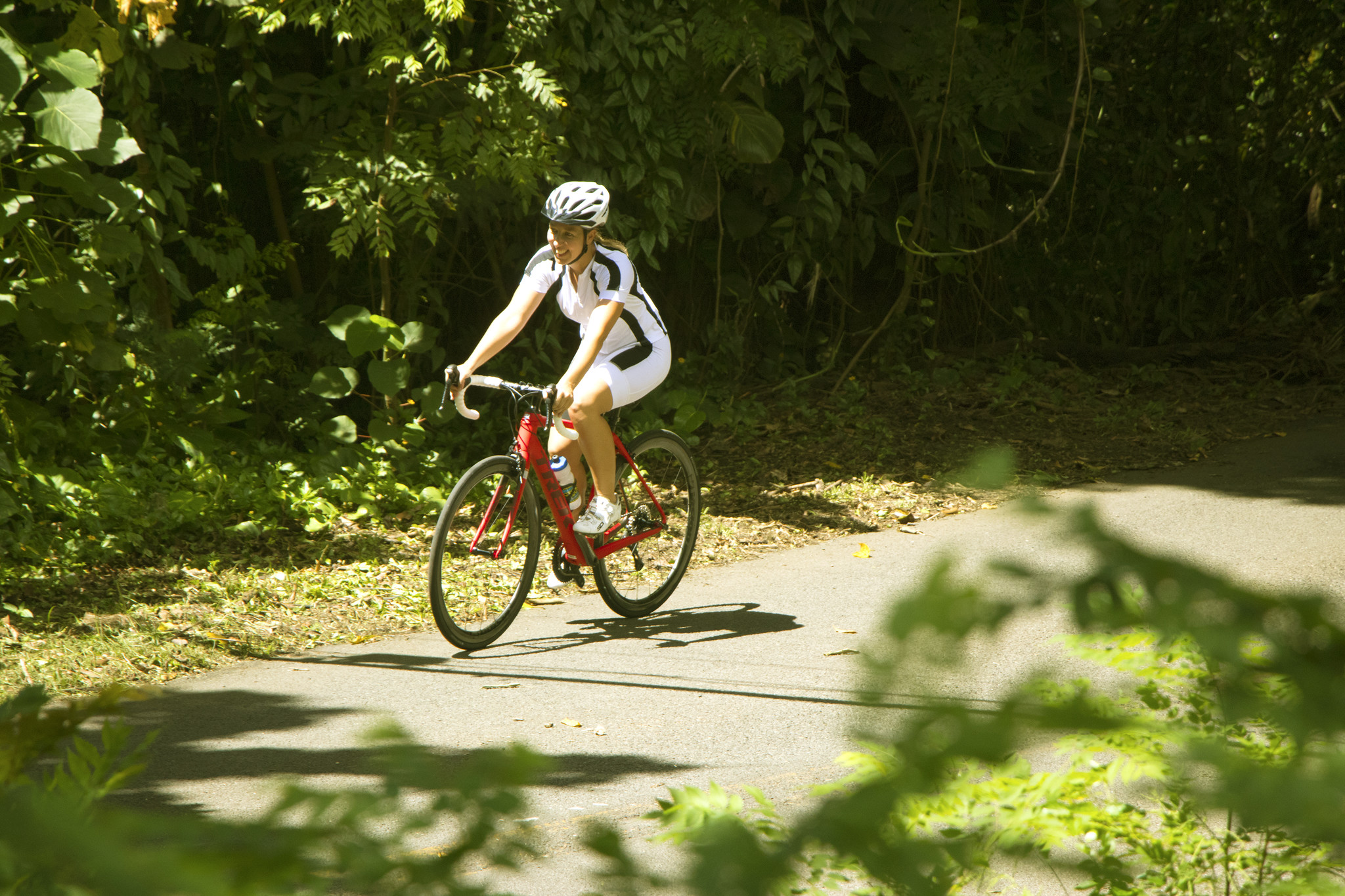 Tantalus rainforest road ride