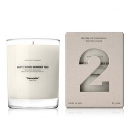 White Wood TWO, 12.5 oz. Candle