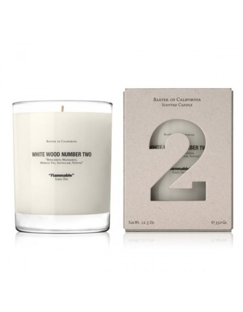 Baxter of California Baxter of California White Wood TWO Candle<br />Invigorating Body Wash, 10 oz.<br />Italian Lime
