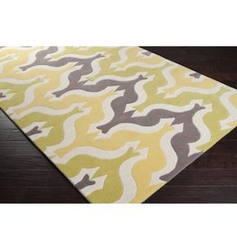 Aimee Wilder 8x11,100% New Zealand wool,Hand Tufted,Made in India