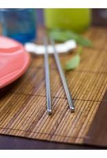 """SS Hollow Handle Set/2 Chopsticks 9.12"""" (23cm)"""