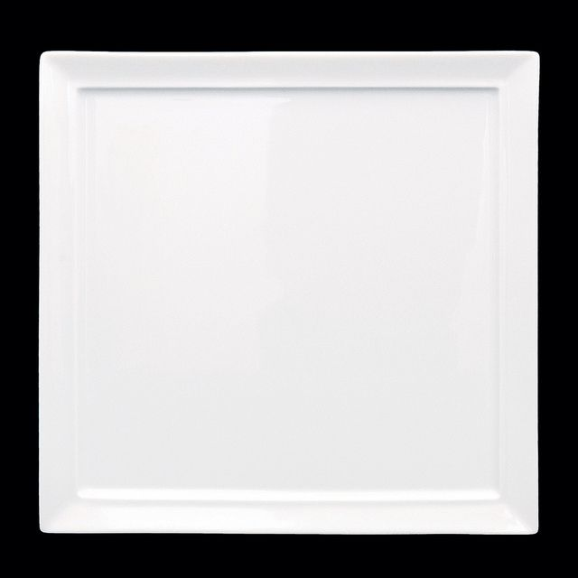 "Tavola Square Plate 10.5"""