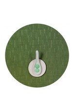 Chilewich Bamboo Table Mat 15 Round LAWN