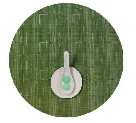Bamboo Table Mat 15 Round LAWN