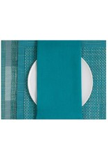 Chilewich Single Sided Linen Napkin, Peacock