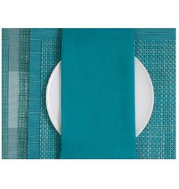 Single Sided Linen Napkin, Peacock