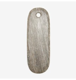 Curve Marble Serving Board, Small Long