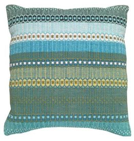 "String Theory Urban Ombre 18"" Pillow, Dhaba"