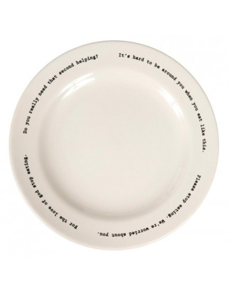 Fishs Eddy Intervention-ware Dinner Plate