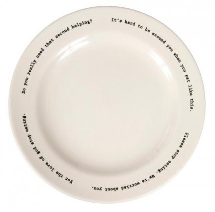 Intervention-ware Dinner Plate