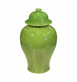 Legend of Asia Temple Jar, Lime Green