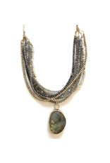 Organic labradorite on Warm Neutral Gems